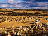 Bushcamper, Pinnacles Desert, Nambung National Park, Western Australia Photographic Print by Holger Leue
