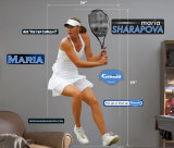 Maria Sharapova -Fathead Wall Decal