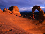 Delicate Arch, Arches National Park, Arches National Park, Utah Photographic Print by Christer Fredriksson