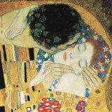 The Kiss, c.1907 (detail) Art by Gustav Klimt