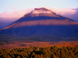 Mt. Ngauruhoe, Tongariro National Park, New Zealand Photographic Print by Michael Gebicki