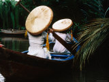 Conical Hats and Pancake Hats, My Tho, Tien Giang, Vietnam Photographic Print by Stu Smucker