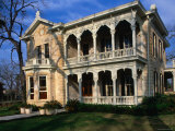 Historical Home in King William District, San Antonio, Texas Photographic Print by John Elk III
