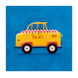Yellow Taxi Posters by Simon Hart