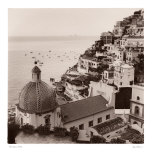 Positano Vista Art by Alan Blaustein