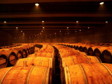 Barrel Room at Opus One, Napa Valley, California Fotodruck von Oliver Strewe