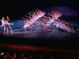 Ballet, Swan Lake Performance, Odesa Opera House, Odesa, Ukraine Photographic Print by Holger Leue