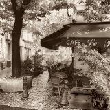 Cafe, Aix-en-Provence Affiche par Alan Blaustein