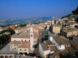 Buildings of Lower Town, San Marino, San Marino Photographic Print by John Elk III