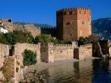 Kizikule Or Red Tower, Alanya, Antalya, Turkey Photographic Print by John Elk III