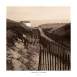 Dune Fence Print by Christine Triebert
