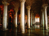Underground Cistern, Istanbul, Istanbul, Turkey Photographic Print by Christopher Groenhout