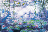Seerosen Kunst von Claude Monet