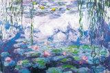 Wasserlilien Kunst von Claude Monet