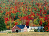 North New Hampshire Landscape along Highway 2, New Hampshire Photographic Print by John Elk III
