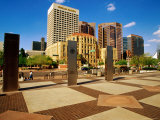 Superior Court Plaza, Phoenix, Arizona Photographic Print by Richard Cummins