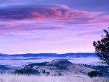 Marfa Plain in Davis Mountains State Park, Fort Davis, Texas Fotodruck von Witold Skrypczak