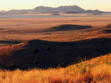 Davis Mountains State Park and Marfa Plain from Park Scenic Drive, Marfa, Texas Fotodruck von Witold Skrypczak