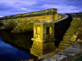 Ross Bridge over Macquarie River, Ross, Tasmania, Australia Photographic Print by Glenn Van Der Knijff