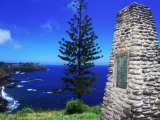 Captain Cook Monument, Duncombe Bay, Australia Photographic Print by Holger Leue