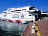 Istanbul to Yalova Ferry Boat at Dock, Istanbul, Turkey Photographic Print by John Elk III