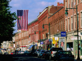 Main Street, Rockland, Maine Photographic Print by John Elk III