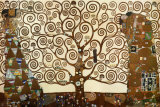Gustav Klimt - Strom ivota, Stoclet Frieze, cca1909 Plakt