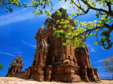 Po Klong Garai, Cham Tower-Shrine, Phan Rang-Thap Cham, Ninh Thuan, Vietnam Photographic Print by Stu Smucker