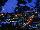 Aspen at Dusk, Aspen, Colorado Photographic Print by Holger Leue