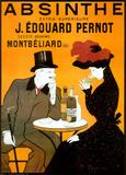 Leonetto Cappiello - Absint, Absinthe (reklamní plakát ve francouzštině) Plakát