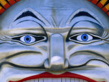 Detail of Luna Park Entrance, St. Kilda, Melbourne, Victoria, Australia Photographic Print by Daniel Boag