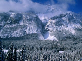 Rocky Mountains in Winter, Banff National Park, Alberta, Canada Photographic Print by Christer Fredriksson