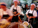 Chefs at Hong Kong Dim Sum, Sampeng Market, Chinatown, Bangkok, Thailand Photographic Print by Ray Laskowitz