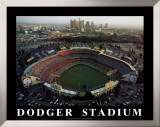 Dodger Stadium - Los Angeles, California Prints by Mike Smith