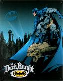 Batman Plaque en métal