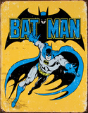 バットマン ブリキ看板