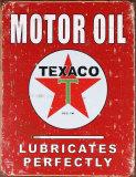 Reclamebord motorolie, Texaco Blikken bord