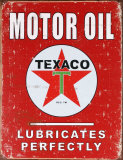Texaco Blechschild