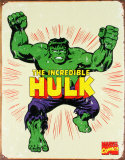 The Incredible Hulk Cartel de chapa