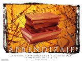 Aprendizaje- Learning Plakat