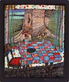 Ile des désirs perdus, 1977 Posters par Friedensreich Hundertwasser