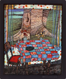 Isle of the Lost Wishes, c.1975 Posters af Friedensreich Hundertwasser
