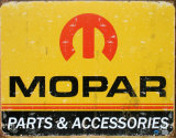 Mopar Blechschild