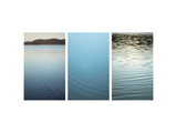 Calm Waters Triptych Posters