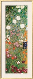 Flower Garden (detail) Art by Gustav Klimt