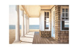 Hampton Porch Collectable Print by Daniel Pollera