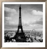 The Eiffel Tower, Paris, France, c.1897 Prints by Tavin
