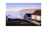 Monhegan Harbor Collectable Print by Daniel Pollera