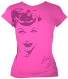 Juniors: I Love Lucy - Face Shirts
