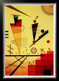 Structure Joyeuse Print by Wassily Kandinsky